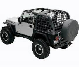 jeep tj cargo net the rollbar cres from smittybilt