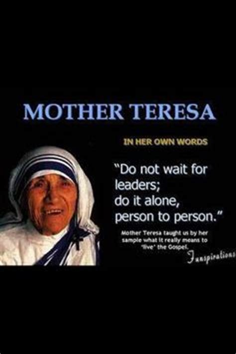 50 years of mother teresa s life to glisten on screen 1000 images about quotes mother teresa on pinterest