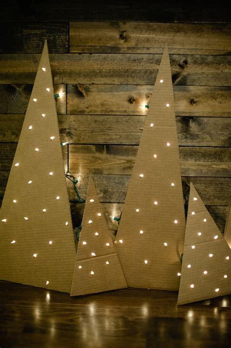 christmas tree cardboard pattern diy cardboard christmas tree 9 tutorials guide patterns