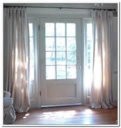 Curtains For Entrance Door 1000 Ideas About Sidelight Curtains On Front Door Curtains Door Curtains And