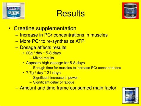 creatine 30 day results ppt the effects of creatine supplementation on anaerobic