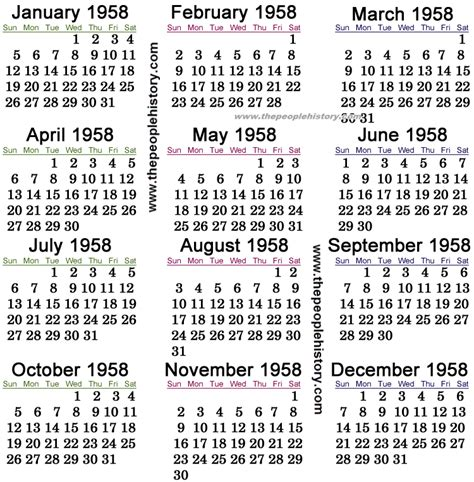 new year january 1958 calendar september 2015 thru december 2015 calendar