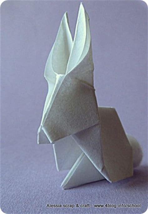 tutorial origami coniglio lavoretti di pasqua il coniglietto origami alessia