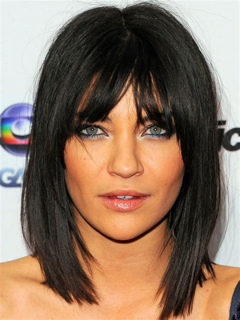 inverted blunt cut the best and worst bangs for inverted triangle faces
