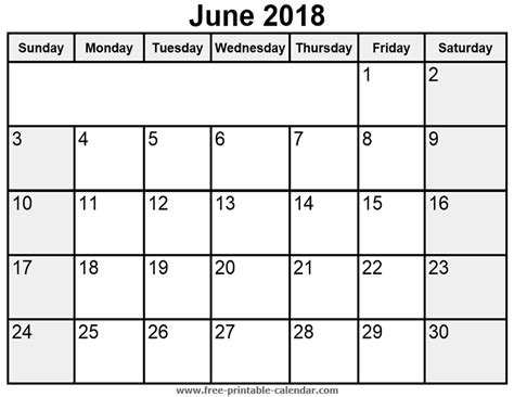 free printable blank calendar june 2018 june 2018 blank printable calendar tolg jcmanagement co