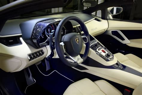 lamborghini custom interior lamborghini displays new customization program with