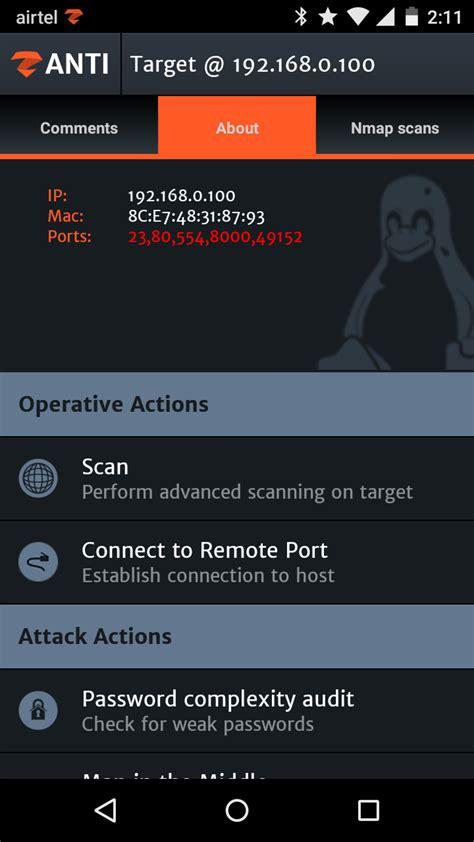 zanti hacking tutorial zanti 2 hacking with android network penetration testing