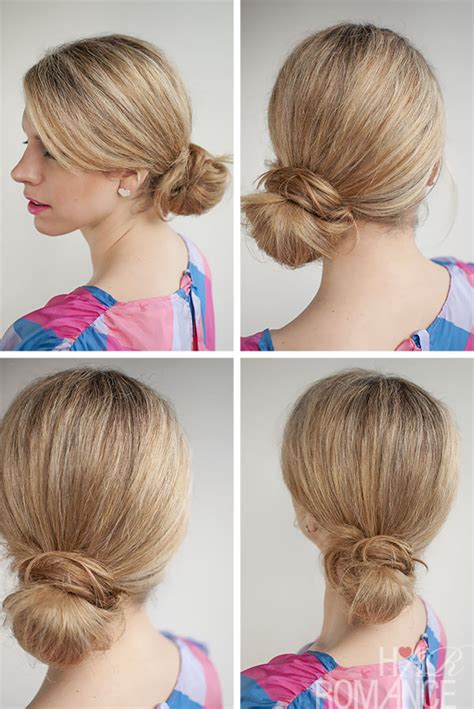 how to put the worlds greatest hair buns with braids 30 buns in 30 days day 24 the side knot bun hair romance