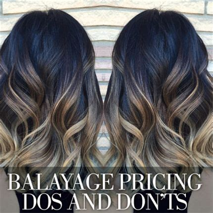 average price for partial highlights the dos and don ts of balayage pricing behindthechair com