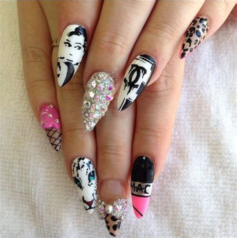 cute stiletto nail designs cute stiletto nails nails pinterest design nail