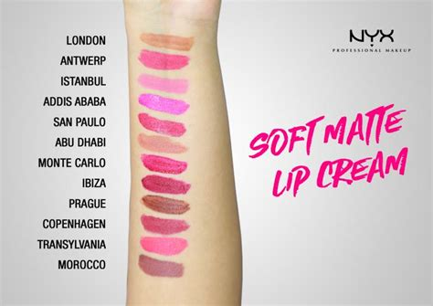 Lipstik Nyx Antwerp nyx professional make up soft matte lip 05 antwerp