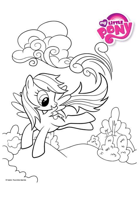 coloriage my little pony rainbow dash hugolescargot com