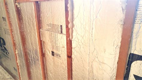rigid foam insulation for basement walls insulate between walls with rigid foam