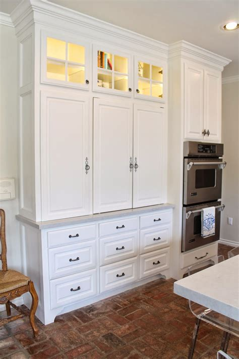 cabinet in the kitchen eleven gables hidden appliance cabinet and desk command