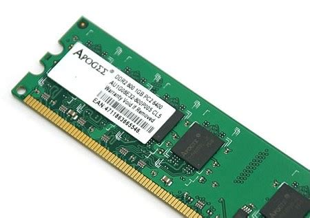 Ram Ddr2 Apogee pc2 6400 in south africa value forest