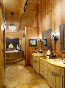 log home bathroom ideas log home bathrooms