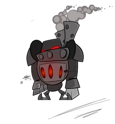 furnace bot concept  templarofbacon  newgrounds