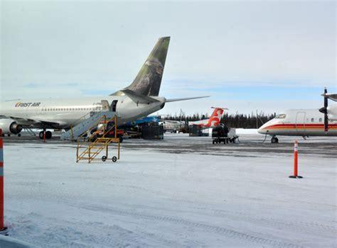 busy travel season grounds food shipments to nunavik arctic today