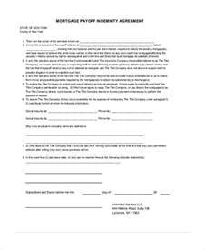 Indemnity Agreement Template 10 Indemnity Agreements Free Sample Example Format