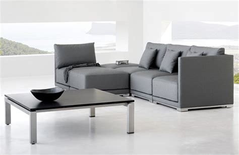 modern look furniture contemporary zen style outdoor furniture by manutti