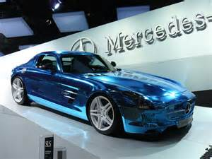 Mercedes Blue Lightning Mercedes Shifting To Electric Cars Typebutter