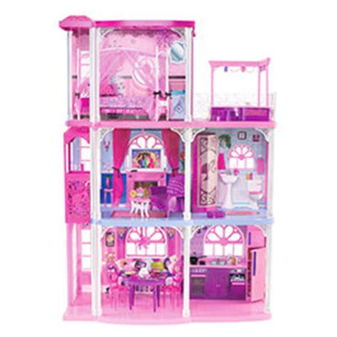 Barbies House by Pink 3 Story Townhouse Toys