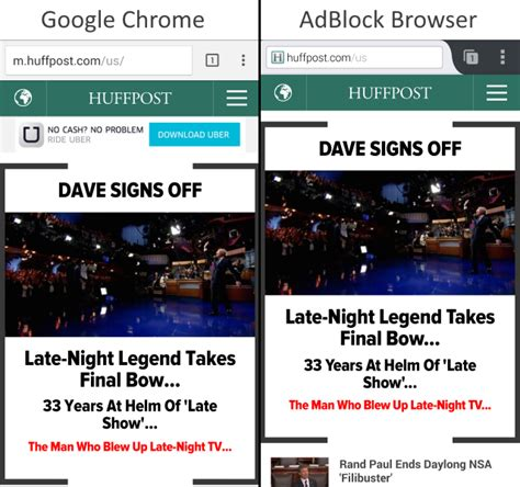 adblock chrome android adblock plus releases a standalone android browser we put it to the test
