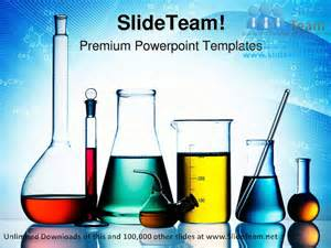 laboratory glassware science powerpoint templates themes