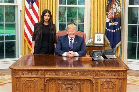 Kim Kardashian details Donald Trump meeting