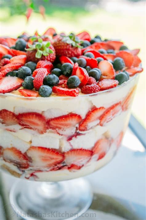 fruit trifle mixed berry and food trifle recipe berry trifle