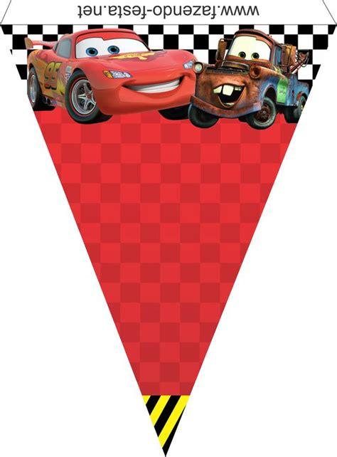 Banderines De Rayo Mcqueen | como hacer banderines de cars para imprimir buscar con