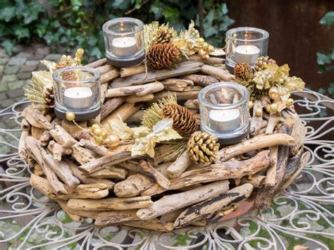 centro tavola con candele il centrotavola fai da te con materiali di riciclo per