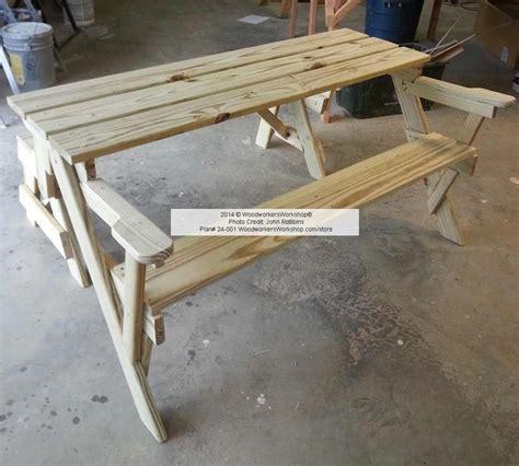 folding picnic table bench plans pdf 24 001 folding bench and picnic table combo pdf