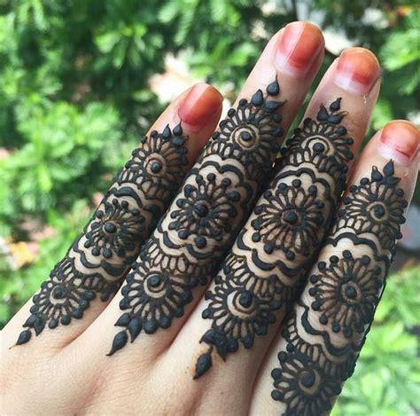 finger mehndi designs simple and beautiful finger mehndi