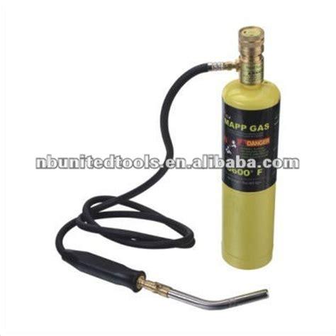 mapp gas the yellow bottle portable mapp welding torch