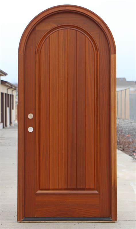 arched top exterior doors