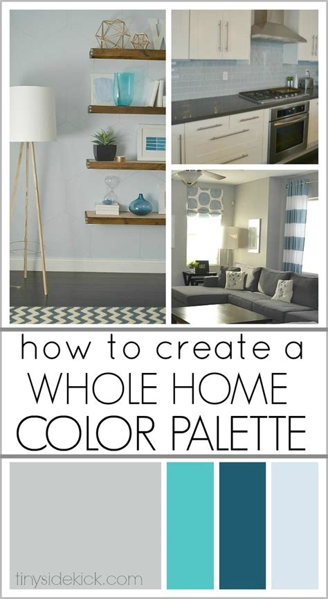 how to color a house how to create a whole home color palette