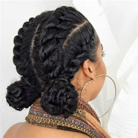pics of flat hair buns 50 catchy and practical flat twist hairstyles hair