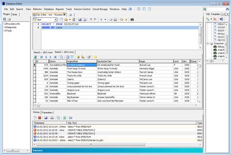 database editor database editor swiss it magazine freeware
