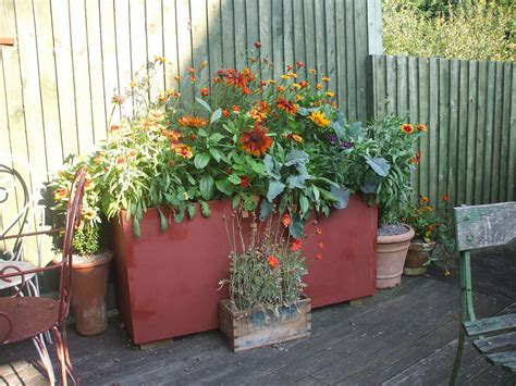 recycled container gardening ideas six ideas for a recycled garden planter coldwell banker
