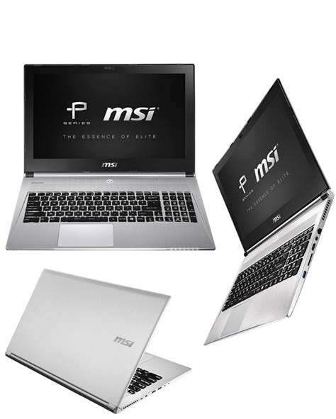 Msi Silver Series Original buy msi px60 2qd 15 6 quot i7 professional laptop at evetech co za