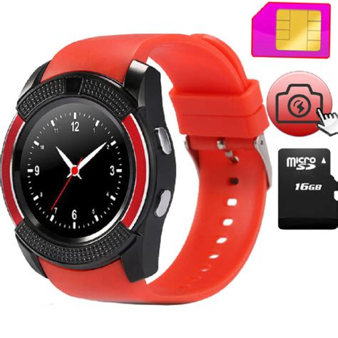 V8 Smartwatch With Gsm And Pedometer Function 1 v8 gsm smart mega electronics