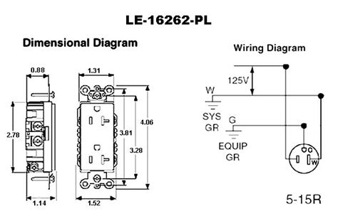 wiring diagram for hospital grade receptacles wiring