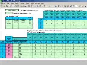 Rotating Shift Work Schedule Template by 10 Hour Shift Schedule Templates Quotes
