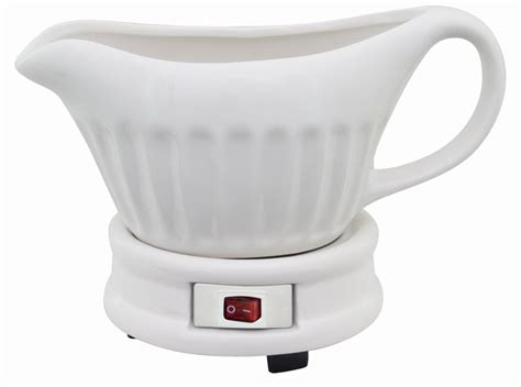 gravy boat with electric warmer s s electric gravy warmer