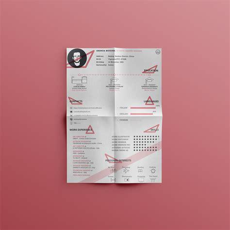Creative Resume Template Zip by Free Creative Resume Cv Design Template Ai File