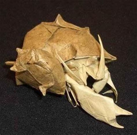 Origami Hermit Crab - gilad s origami page origami usa convention 2005 hermit