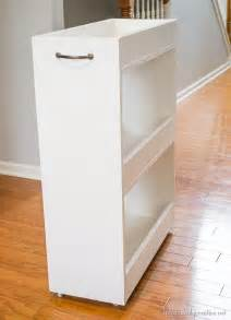 Laundry Room Storage Cart White Diy Laundry Storage Cart Featuring Infarrantly Creative Diy Projects