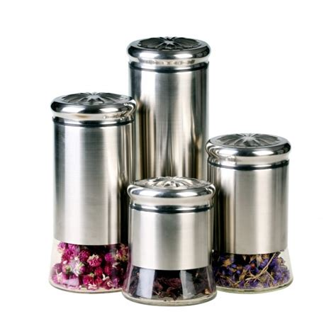 Gbs3024 Helix 4 Piece Canister Set Kitchen Canisters Products | gbs3024 helix 4 piece canister set