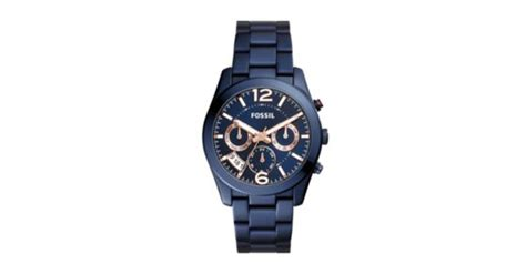 Fossil Boyfriend Multifunction Blue Stainless Steel Es4093 boyfriend multifunction blue stainless steel fossil